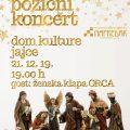 Božićni koncert u Jajcu 2019.